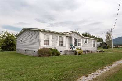 Benton Single Family Home For Sale: 257 Harmony Lane