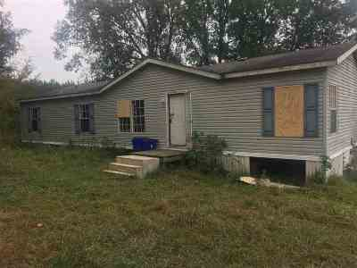 Old Fort Single Family Home For Sale: 641 Gap Springs Rd SE