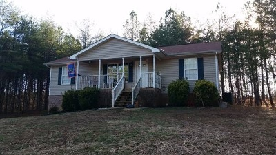 Old Fort Single Family Home For Sale: 1194 Samples Chapel Rd