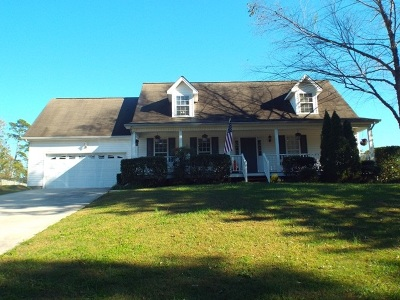 Cleveland Single Family Home For Sale: 198 Quail Run Trace