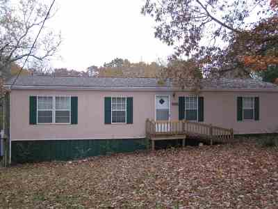 Benton Single Family Home For Sale: 604 Clemmer Ferry Rd.