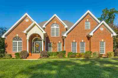 Ooltewah Single Family Home For Sale: 2507 Alpine Bluff Trl