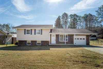 Cleveland TN Single Family Home Contingent: $134,900