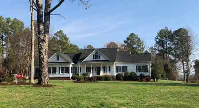 Cleveland Single Family Home Contingent: 450 Harris Creek Road