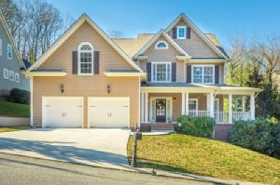 Chattanooga Single Family Home For Sale: 1801 Glenroy Ave