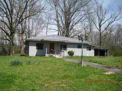 Benton Single Family Home Contingent: 229 Maynor Springs Ln