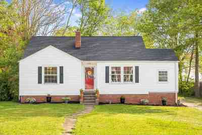 Single Family Home Sold: 802 Willow Street NW