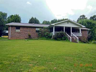 Tellico Plains Single Family Home Contingency 48hr (+/-): 143 Bivens Road