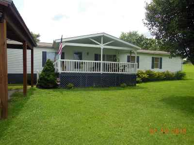 Single Family Home For Sale: 516 County Road 709
