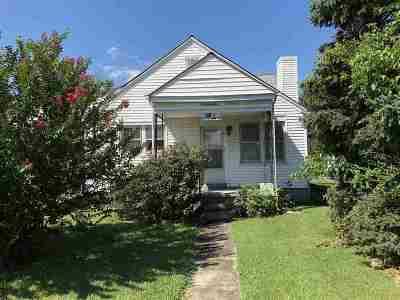 Niota Single Family Home For Sale: 401 W. Willson