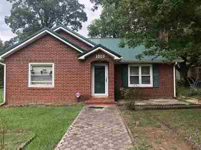 Etowah Single Family Home For Sale: 1010 Georgia Avenue