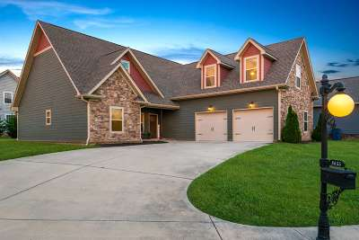 Ooltewah Single Family Home Contingent: 8655 Rosada Dr