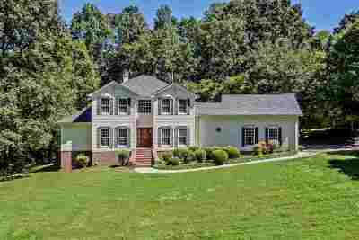 Athens Single Family Home For Sale: 1806 Wood Creek Circle