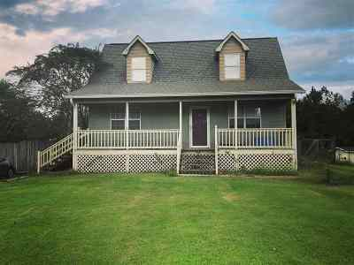 Cleveland Single Family Home For Sale: 847 Samples Chapel Rd