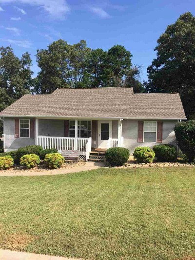 Cleveland Single Family Home For Sale: 167 Hollow View Drive