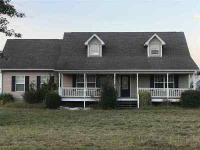 Cleveland Single Family Home Contingent: 127 Misty Meadows Circle SE