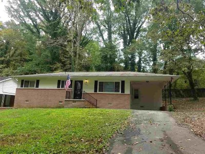 Cleveland Single Family Home For Sale: 215 Nicholson Drive SW