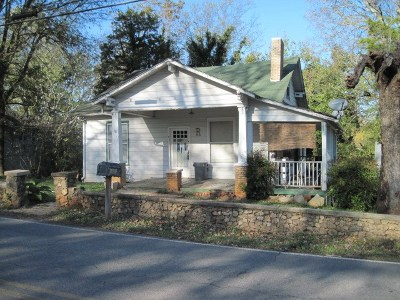 Single Family Home For Sale: 1803 Benton Station Road