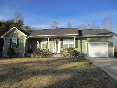 Dayton Single Family Home Contingent: 334 Maley Hollow Road