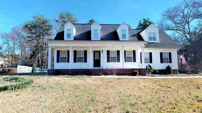 Charleston Single Family Home For Sale: 282 Maple Crest Circle NW