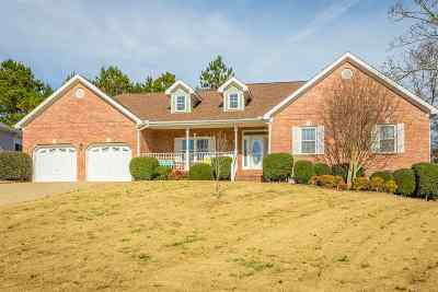 Ooltewah Single Family Home Contingent: 8845 Windhaven Road