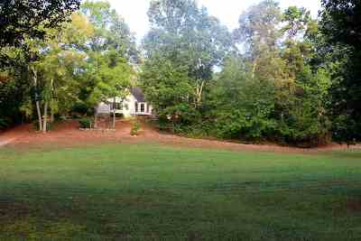 Georgetown Single Family Home For Sale: 1582 Eads Bluff Road NW