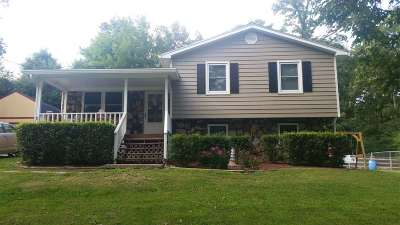 Cleveland Single Family Home Contingent: 147 Heritage Hills Circle NE