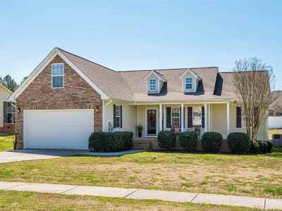 Horse Creek Farms Single Family Home Contingent: 216 Thoroughbred Drive NW