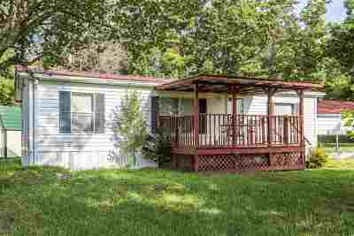 Single Family Home For Sale: 1895 Porch Rock Road