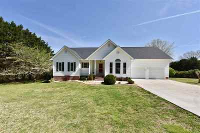 Charleston Single Family Home For Sale: 3186 Chatata Valley Road