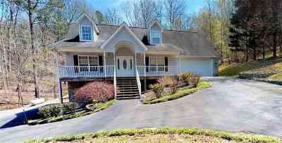 Single Family Home For Sale: 1433 Eads Bluff Road NW