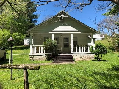 Single Family Home For Sale: 556 Ideal Valley Road