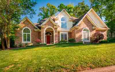 Ooltewah Single Family Home Contingent: 1534 Hawks Landing