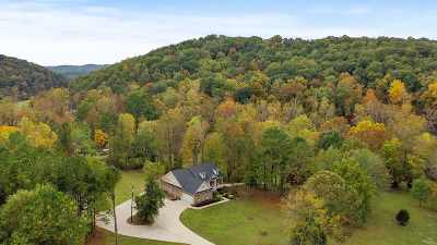 Single Family Home For Sale: 1544 Sloans Gap Road