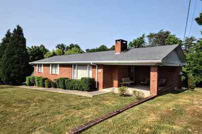 Spring City Single Family Home Contingent: 105 N Hillcrest Drive