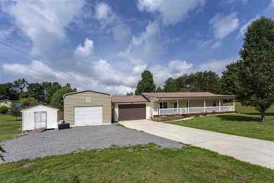 Spring City Single Family Home Contingent: 446 Upper Clear Creek Road
