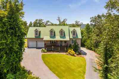 Single Family Home For Sale: 1570 Bigsby Creek Road NW