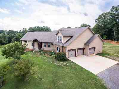 Single Family Home For Sale: 1612 Eads Bluff Road NW