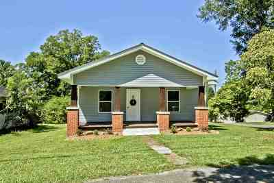 Etowah TN Single Family Home For Sale: $129,900