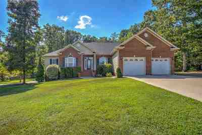 English Oaks Single Family Home Contingent: 223 Hickory Crest Drive