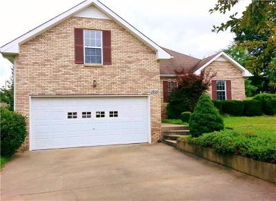 Clarksville Single Family Home For Sale: 1899 Roscoe Drive South