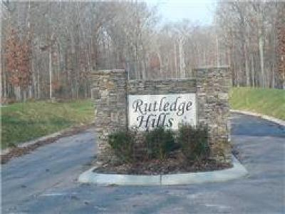 Residential Lots & Land For Sale: Rutledge Hills Dr