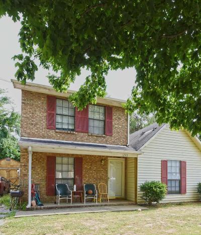 Murfreesboro Single Family Home For Sale: 1240 Wenlon Dr