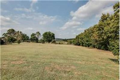 Maury County Residential Lots & Land Under Contract - Showing