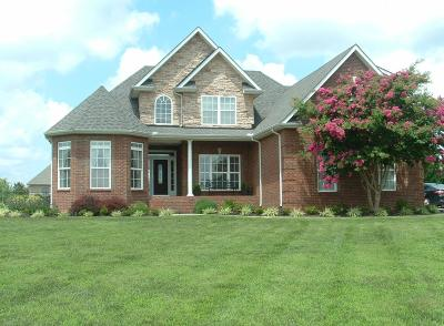 Shelbyville Single Family Home Under Contract - Showing: 129 North Point Circle