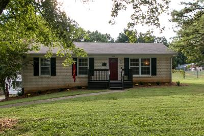 Christian County, Ky, Todd County, Ky, Montgomery County Single Family Home Under Contract - Not Showing: 306 Edmondson Ferry Rd