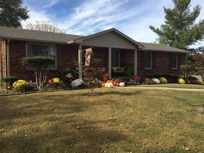 Clarksville Single Family Home Under Contract - Not Showing: 386 Sango Rd