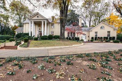 Belle Meade Single Family Home For Sale: 4410 Honeywood Dr