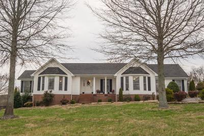 Shelbyville Single Family Home Under Contract - Showing: 349 Naron Road