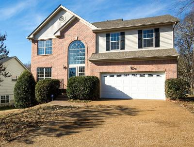 Mt Juliet Single Family Home Under Contract - Showing: 3107 N Waterford Court